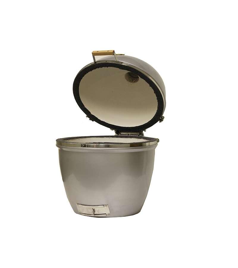 גריל פחמים ומעשנה אמריקאי Large, עשוי משבעה סוגים של קרמיקה טבעית חזקה במיוחד מבית Grill Dome - תמונה 6