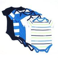Puma / פומה סט חמישיית בגדי גוף - כחול לבן (0 - 9 חודשים)