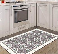 שטיח מעוצב דגם ורונה טורקיז בגדלים לבחירה