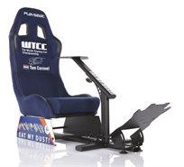 מושב Playseat Evolution WTE משחקי מירוצים מתקפל נוח ויציב מותאם לכל סוגי הקונסולות והמחשב.