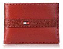 Tommy Hilfiger ארנק עור בינוני Red