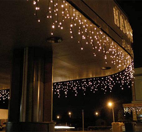 שרשרת תאורה מתפצלת סולארית בעלת 110 נורות