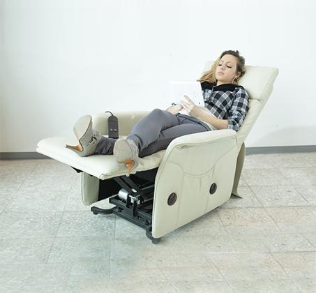 כורסת הרמה חשמלית BRADEX מדמוי עור המסייעת למתקשים בקימה והתיישבות עם צבעים לבחירה - תמונה 6