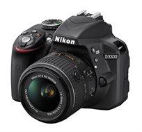 מצלמת רפלקס DSLR Nikon D3300 + עדשת קיט 18-55mm f/3.5-5.6G VR II  - משלוח חינם!
