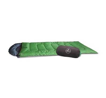 שק שינה CAMP&GO עשוי 100% פוליאסטר + מגן מסך נוזלי בטכנולוגיית NANO מתנה - תמונה 2