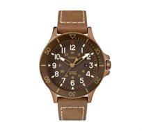 שעון יד אנלוגי לגבר בעיצוב ספורטיבי עמיד במים TIMEX