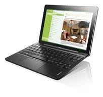 """טאבלט 10.1"""" Lenovo דגם Miix 300 מעבד Atom נפח איחסון 64GB זיכרון 2GB מערכת הפעלה Windows 8.1+מקלדת - מוחדש"""