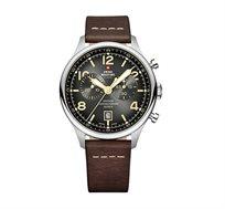 שעון יד שוויצרי כרונוגרף לגבר סוויס מיליטרי