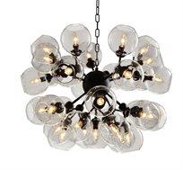 מנורת תליה ייחודית דגם סנטרו ביתילי מכילה 31 גופי תאורה