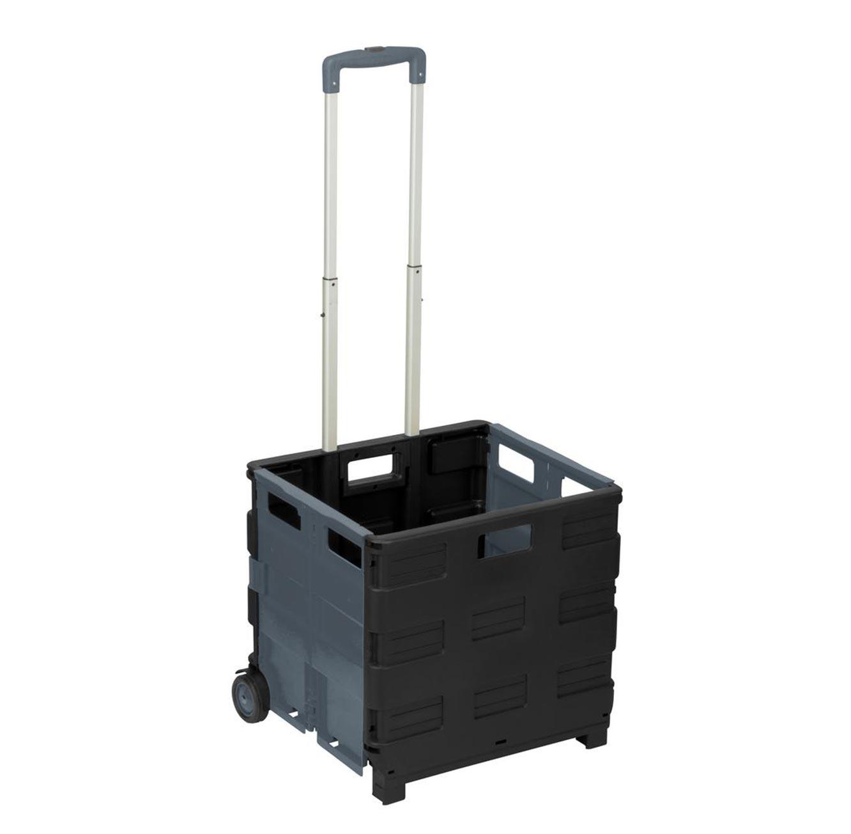 עגלה עמידה בעומסים כבדים מתקפלת למזוודה