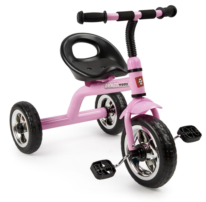 תלת אופן לילדים Back to School בעל גלגל קדמי גדול בצבעים לבחירה SWAG - משלוח חינם - תמונה 2