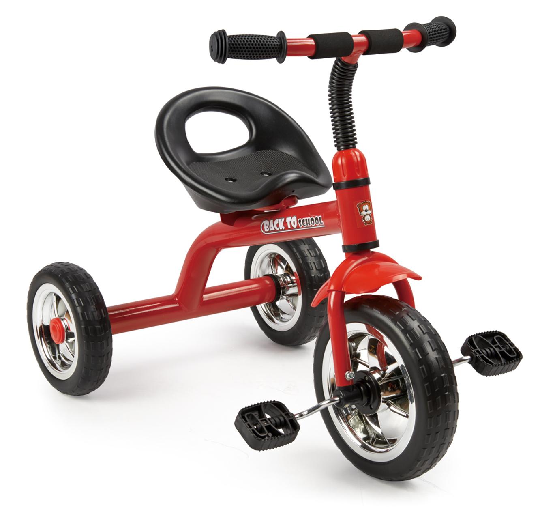 תלת אופן לילדים Back to School בעל גלגל קדמי גדול בצבעים לבחירה SWAG - משלוח חינם - תמונה 3