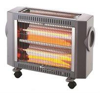 תנור חימום Selmor עצמתי במיוחד בעל 4 גופי חימום בעיצוב מהודר בהספק 2000W דגם OM-831 - משלוח חינם!