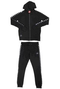 Kappa נשים// חליפת קפוצון בנדה שחור