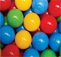 100 כדורים צבעוניים עשויים פלסטיק איכותי שאינו רעיל