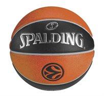 כדורי כדורסל מקצועיים ואיכותיים מבית SPALDING לבחירה עור סינטטי או יורוליג