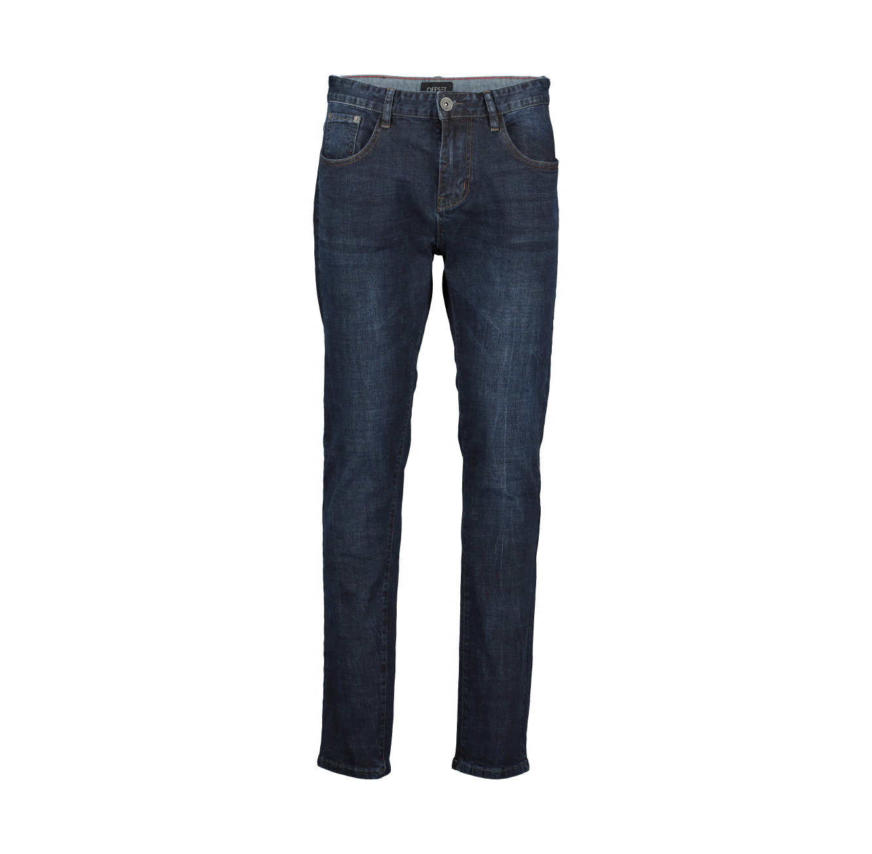 ג'ינס משופשף Offset Slim sit לגברים - צבע לבחירה