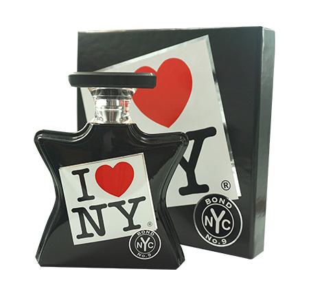"""בושם לאישה I Love NY בונד א.ד.פ 100 מ""""ל"""