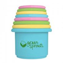כוסות משחק לאמבטיה -  I Play - Green Sprouts