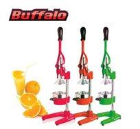 מסחטת מיצים מקצועית Buffalo, היחידה המסוגלת לסחוט רימונים, בשלל צבעים לבחירה + סט סכינים מתנה - משלוח חינם!