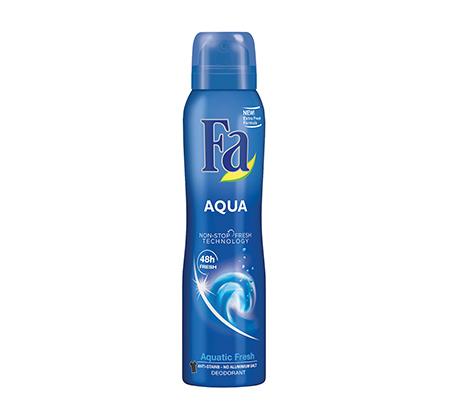 מארז 6 יחידות דאודורנט ספריי לאישה Aqua