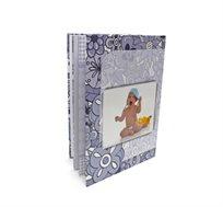 מתנה מרגשת לכל אירוע! אלבום דיגיטלי איכותי A4 אנכי בכריכה קשה, 32 עמודים