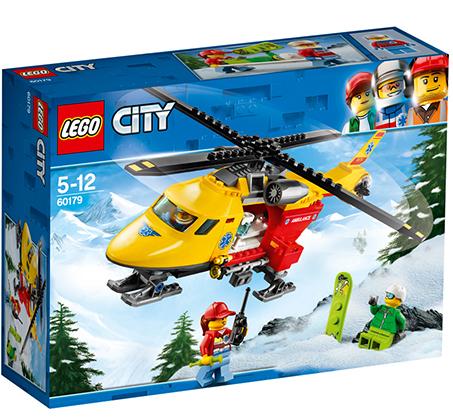 מסוק אמבולנס - משחק לילדים LEGO