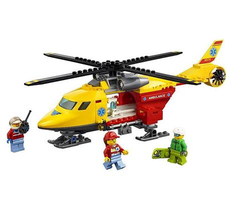 מסוק אמבולנס - משחק לילדים LEGO  - תמונה 2
