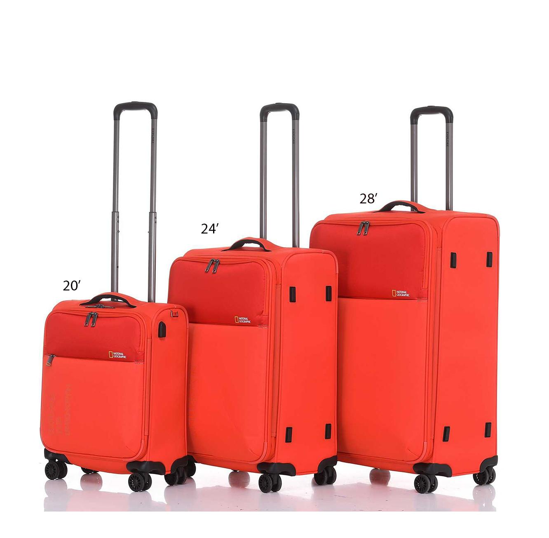 """מזוודה דגם """"EVOLUTION NGO-13 24 צבע לבחירה"""