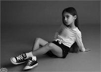 ORO/ שורט ג'ינס (16-2 שנים) -  קלאסי שחור