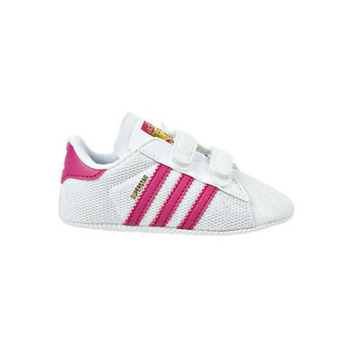 Adidas Superstar Crib נעליים ׁׁׁׂ(מידות 18-20ׁ) לבן ורוד