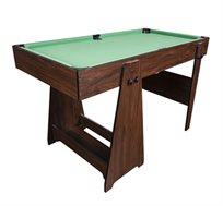 שולחן ביליארד מתקפל באורך 4 פיט דגם PRINCE עשוי MDF איכותי וקשיח, כולל סט משחק