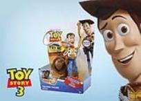 בובת השריף וודי, שומר החוק האהוב ביותר! מהסרט ''צעצוע של סיפור 3'', גם מקסים וגם מדבר... באנגלית!