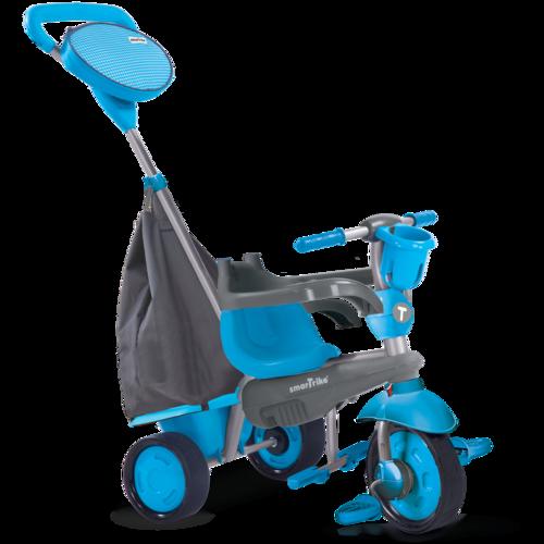 תלת אופן 4 ב 1 דגם סווינג Swing בכחול - משלוח חינם - תמונה 3