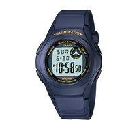 שעון יד דיגיטלי קלאסי - כחול כהה