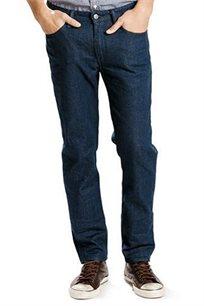 ג'ינס LEVIS לגבר דגם 511-0087 SLIM FIT בצבע כחול משופשף