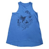 טוניקה NO BIGGIE לילדות (12 חודשים-12 שנים) כחול