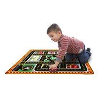 שטיח משחק ופעילות רכבי הצלה וביטחון