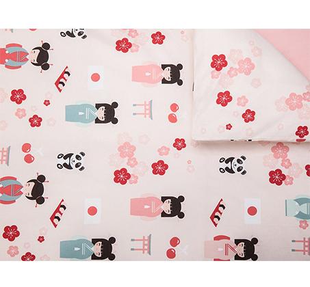 סט מצעים לחדרי ילדים ונוער 100% כותנה דגם סאקורה בגדלים לבחירה KITAN - תמונה 3