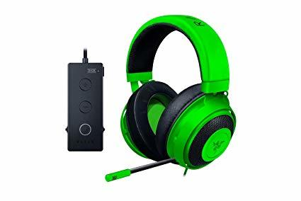 אוזניות גיימינג Razer Kraken Tournament Green