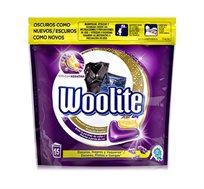 מארז 7 אריזות קפסולות ג'ל לכביסה Woolite לבגדים כהים