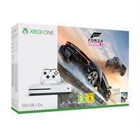 קונסולת Xbox One S בנפח 500GB +משחק Forza 3 מנוי ל 3 חודשים ובקר נוסף מתנה