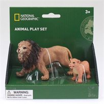 מארז חיות ג'ונגל ויער National Geographic - אריות