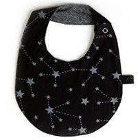 Babymitmit סינר דו צדדי שחור - Galaxy Collection