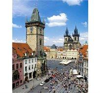 """חופשה חגיגית בפראג! 3 או 4 לילות בסוכות במלון 3 כוכבים ע""""ב א.בוקר והעברות החל מכ-€499* לאדם!"""