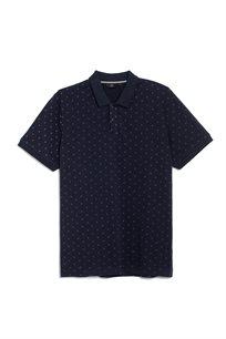 חולצת פולו פיקה לייקרה הדפס אול אובר