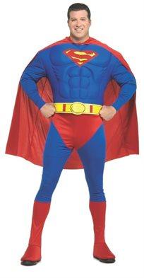 סופרמן שרירי דלוקס מידה Plus