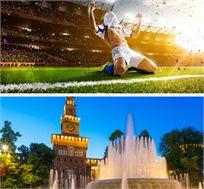 חבילת ספורט במילאנו למשחק מילאן מול אינטר מילאן רק בכ-€479*