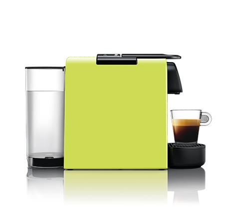 מכונת קפה NESPRESSO  אסנזה מיני בצבע ירוק דגם D30 כולל מקציף חלב ארוצ'ינו - משלוח חינם - תמונה 3