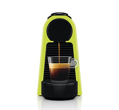 מכונת קפה NESPRESSO  אסנזה מיני בצבע ירוק דגם D30 כולל מקציף חלב ארוצ'ינו - משלוח חינם - תמונה 5